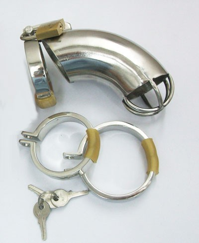Stainless Steel Chastity Device
